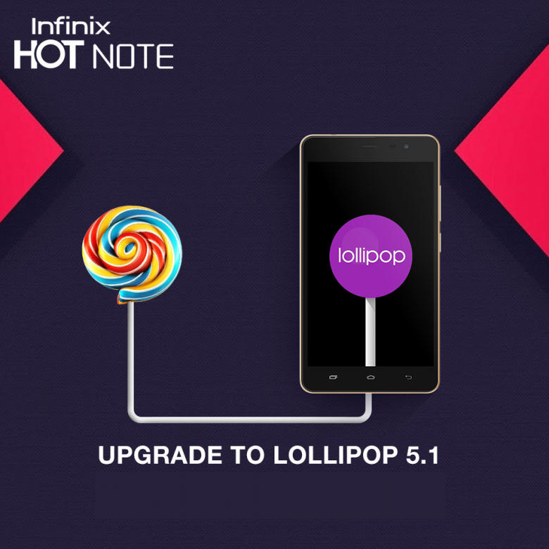 Install / Update Android Lollipop 5.1 on Infinix Hot Note & Hot Note Pro